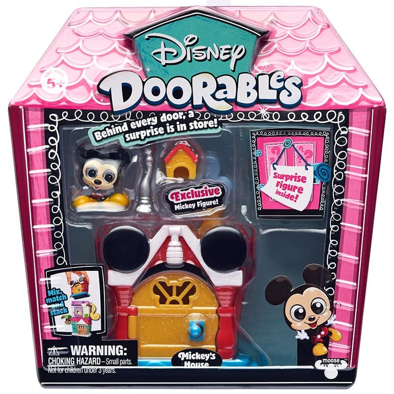 Disney Doorables Frozen Elsa Olal Mickey Minnie Judy Pinocchio Rapunzel Alice Snow White Belle Princess Blind Box Girl Kids Toys 19