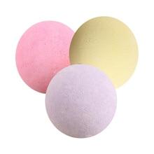 1 Pcs Organic Bath Salt Ball Natural Bubble Bath Bombs Ball Rose Green Tea Lavender Lemon Milk RP