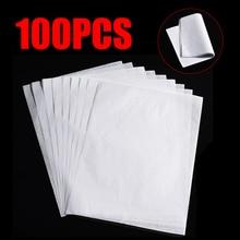 100 шт полупрозрачная калька каллиграфия ремесло письмо копировальная бумага для рисования
