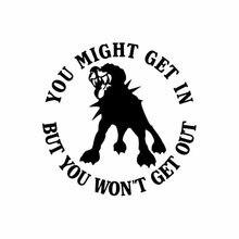 Interessante Misschien Krijg Je In Maar Je Zal Niet Uit Rottweiler Hond Auto Stickers Waterproof Zonnebrandcrème Decal Pvc 15cm X 15Cm