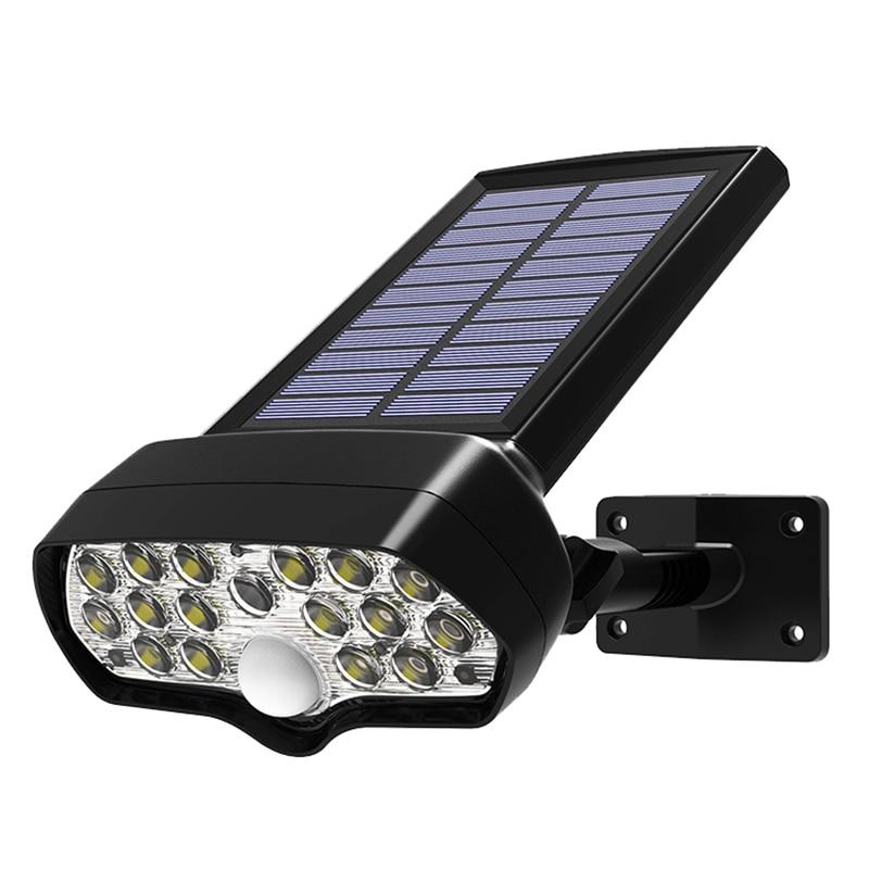 Wall Lamp For Outdoor Garden Motion Sensor Solar Lamp Shark LED Solar Light PIR Waterproof Solar Powered Spotlights