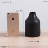 Black Vase B