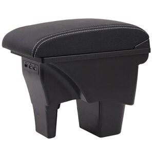 Image 5 - Per Suzuki Vitara box bracciolo auto universale center console caja accessori di modifica del doppio sollevato con USB