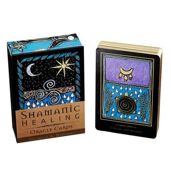 44 Shamanic Healing Oracle Cards Tarot Cards Board Games Cards Family Party Card Game Deck Game Life Prediction Tarot Cards недорого
