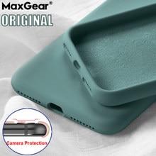 Original líquido silicone caso do telefone para oneplus 8 7t 7 pro luxo pára-choques para oneplus 6t 5 8t 5t capa um mais 7pro proteção