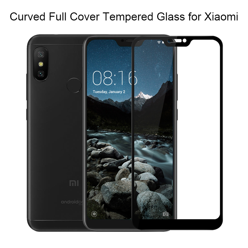 Tempered Glass for xiaomi redmi note 5 3 4 4a 4x 5 plus 5a 6 pro 6a Case for xiaomi mi 8 se a2 a1 xiomi mi8 Lite Protective film(China)