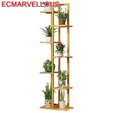 Rak Bunga Escalera Decorativa Madera Indoor Pot Estanteria Jardin Stojak Na Kwiaty Flower Shelf Rack Dekoration Plant Stand