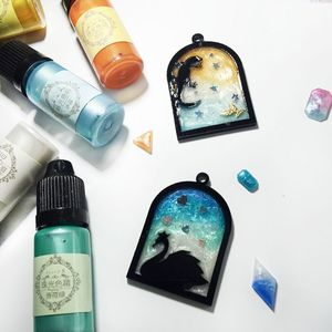 Image 5 - 24 Pcs 10ML Crystal Epoxy Resin Pigment UV Resin Coloring Dye Handmade DIY Jewelry Making Art Crafts Liquid Colorant Dropship