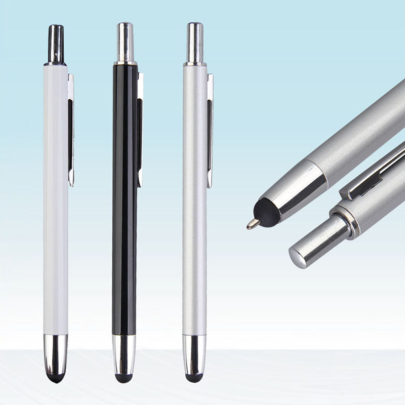 Clearance Sale Items 2 in 1 Capacitive Touch Screen Ballpoint Pen for iPhone iPad Samsung Mobile Phone Stylus Accessories