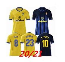 2020 2021 camisa de futebol de cádiz cf camisa de futebol 20 21 lozano alex bodiger juan cala