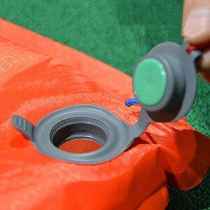 Image 4 - JR GEAR R3.0 R5.0 colchón inflable ultraligero Primaloft, resistente a la humedad, de TPU, para tienda de campaña al aire libre, colchoneta de aire