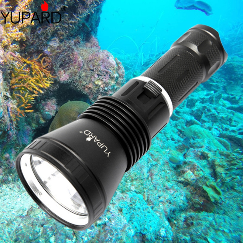 LED Waterproof scuba Diver Diving Flashlight Lights Outdoors