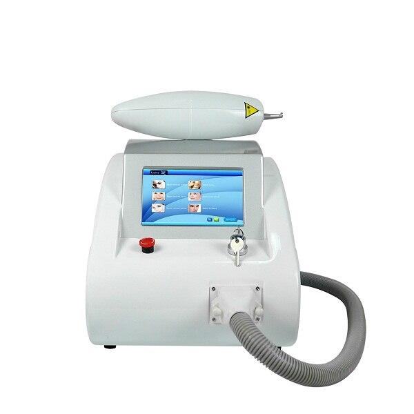 Máquina portátil da remoção da tatuagem do laser do nd yag de 1064 & 532 nanômetro preço de fábrica