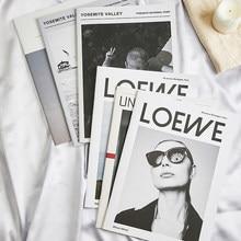 Revista de moda fotografia fundo papel ornamento photo studio backdrops prop diário notebook decoração para fotografar