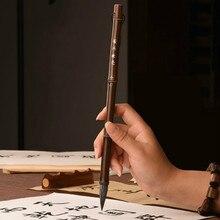 цена на Calligraphy Brush Set Chinese Huzhou Ink Brush Pen Traditional Chinese Painting Regular Script Writing Brush Set Caligrafia