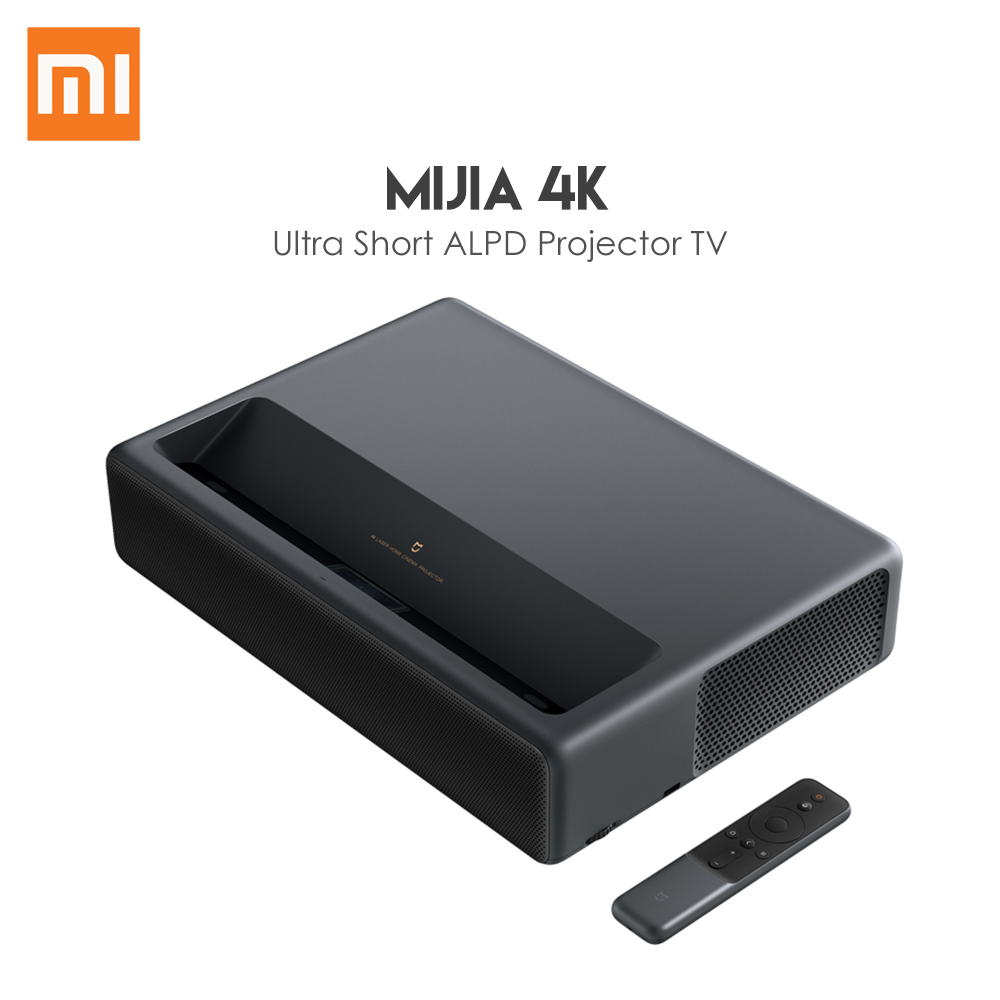 Original Xiaomi Mijia 4K Laser Projector TV Home Theater Android 6.0 5000 Lumens 1080p Movie Player Wifi DOLBY DTS 3D