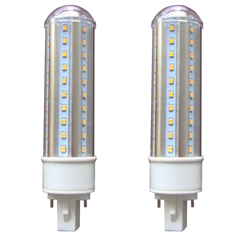 G24 Светодиодный 9 Вт G24 светодиодный лампочка 2 основа заколки светодиодный G24q PL лампа 18 Вт G24Q CFL замена лампочки Plug & Play 360 Deg G24D лампа