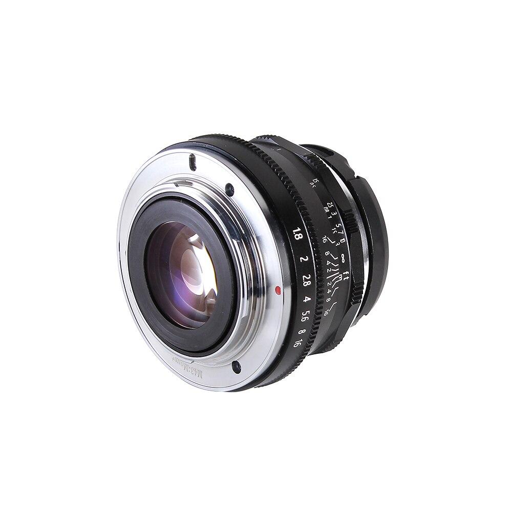 Objectif principal 25mm F1.8 mise au point manuelle MF pour caméra Panasonic Olympus MFT M4/3 Mount GH4 GM1 GX8 G7 G9