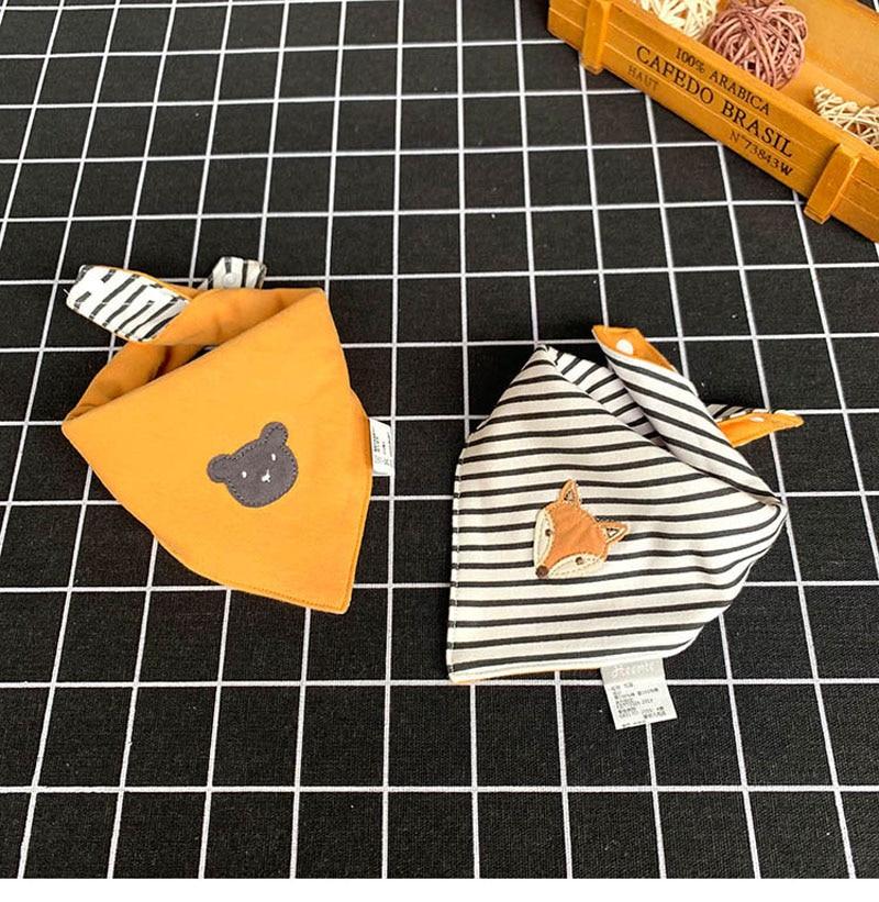 Baby Bibs Bandana Bib Burp Cloth Print Animal Triangle Cotton Baby Scarf Meal Collar Burp Baby Accessories