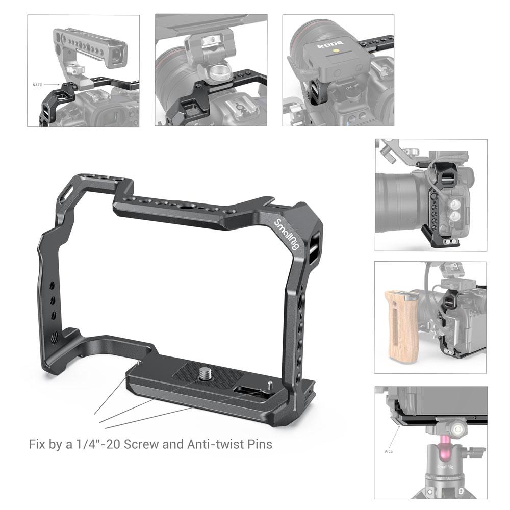 Клетка за DSLR камера SmallRig за вградена - Камера и снимка - Снимка 5