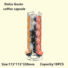 2019 Dolce Gusto coffee capsule holder a variety of styles can choose bracket rotating bracket iron chrome coffee set 2019 basement jaxx деннис феррер black coffee nitin dj gregory джош милан anane mad styles