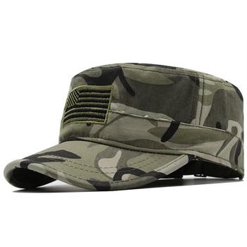 Sombrero a la moda para mujeres, mascarilla de las fuerzas especiales de camuflaje militar, sombrero de bandera estadounidense, gorra militar, Boina, Sailor Bone