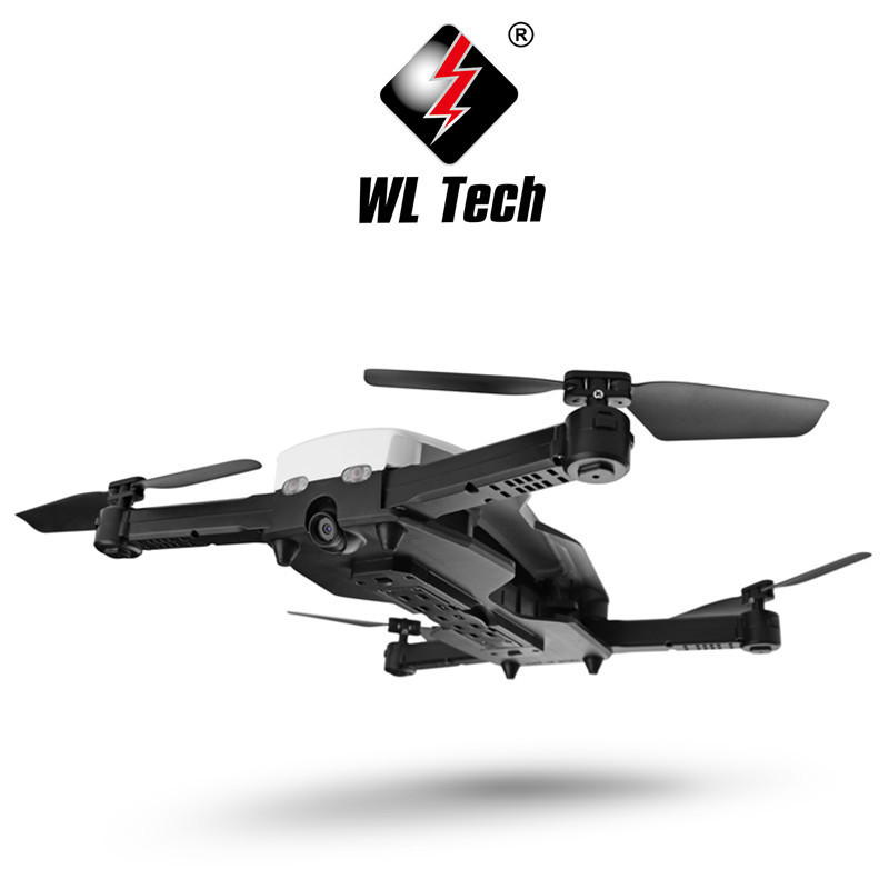 Weili Wltoys Q636-b Quadcopter Optical Flow Positioning Folding Unmanned Aerial Vehicle 720P Wifi Aerial Photography