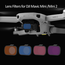 ND Lens Filters Kit for DJI Mavic Mini/Mini 2 ND4 ND8 ND16 ND32 Camera Filter Lens Protection Anti oil Anti scratch Accessory