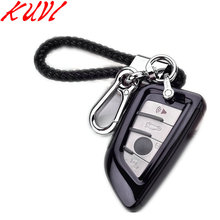PC+TPU Car Styling Soft TPU Key Cover Case For BMW X5 F15 X6 F16 G30 7 Series G11 X1 F48 F39 Shell Car-StylingKey Protection