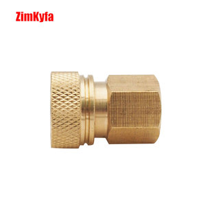 Image 3 - Paintball PCP Air Gun Rifle Filling Charging Hose Quick Release Coupler Fitting 8 mm Female Socket Quick Disconnect M10*1.0