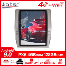 128G Tesla Bildschirm Carplay Für 2014 2015 2016 2017 Toyota Tundra Android 9 Auto Multimedia Player GPS Audio Radio stereo Kopf Einheit