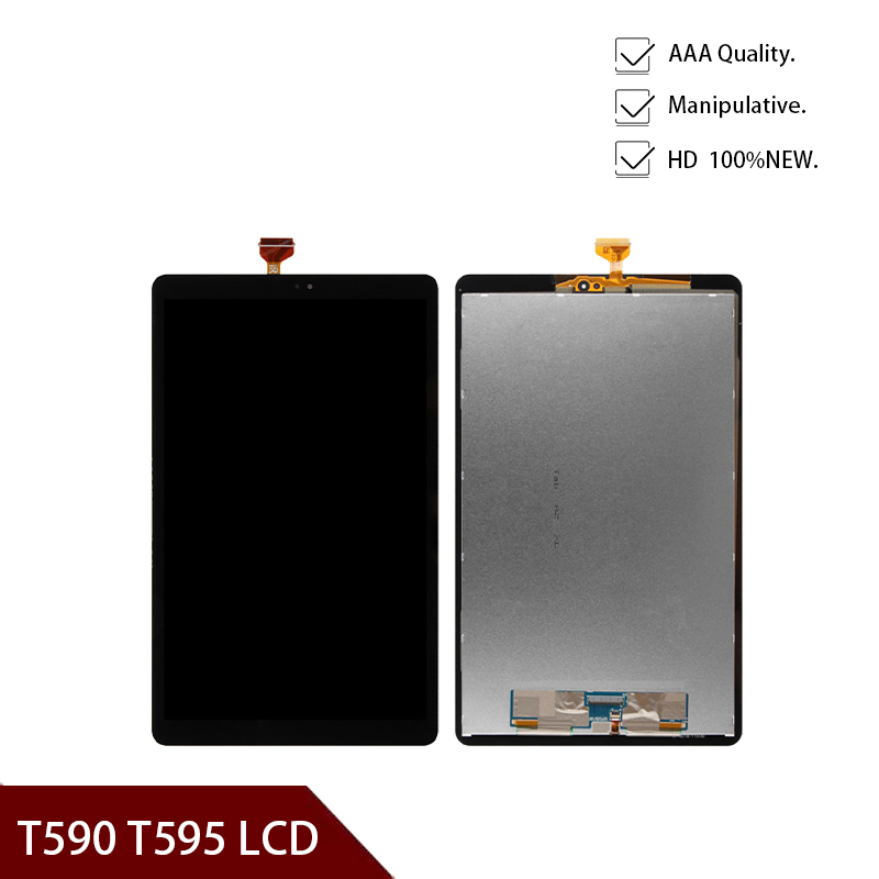10.5'inch 2018 HD LCD Display Panel Screen Monitor Touch Screen Assembly For Samsung Galaxy Tab A2 T590 T595 SM-T595 SM-T590