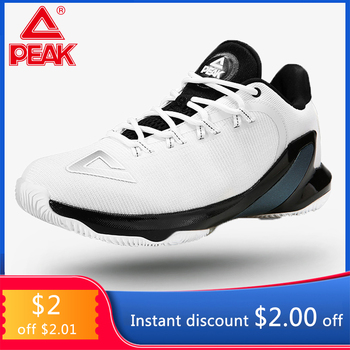 PEAK TONY PARKER V Basketball Shoes Professional Men's Drop-in Cushioning Breathable Basketball Sneakers Sports Outdoor peak TP9