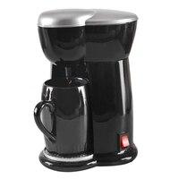 Gotejamento elétrico máquina de café do agregado familiar máquina de café 6 xícara de chá pote de café (plugue do reino unido)