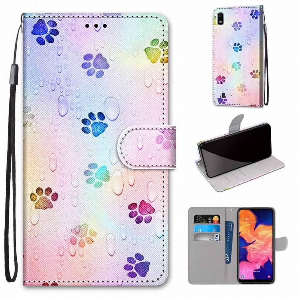 Ragazzi Ragazze Bambini Bella Sacchetti Del Telefono per Il Caso di Xiaomi 9T 9 Lite Redmi K20 Pro Animale Fiore Torre Del Cane gatto Farfalla Lupo Leone D08F