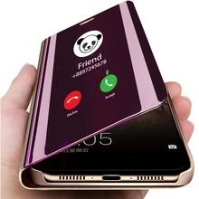 Smart Mirror Phone Case For Samsung Galaxy S20 Plus Ultra S10 5G S10E S9 A71 A51 A41 A21 A11 A9 A8 A7 2018 A30 A40 A50 A70Cover