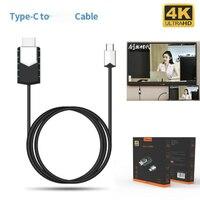 Mirscreen Kabel TC03 Type-C Tot 4K Hdmi-Compatibele Kabel 1080P Full-Hd Instant Projectie verbinding Mobiele Telefoon Naar Tv/Gps Navigatie