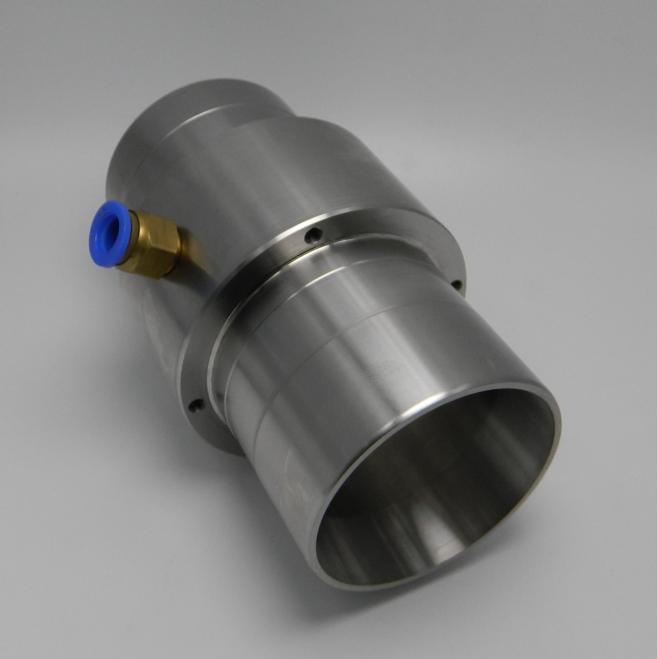 Pneumatic Conveyor / Air Amplifier 3 Inch 304 Stainless Steel Interface 75mm Through Hole 66mm