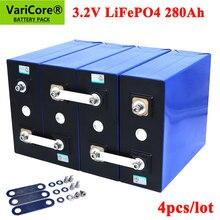 4 pièces VariCore 3.2V 280Ah lifepo4 batterie bricolage 12V 280AH Batteries rechargeables pour voiture électrique RV système de stockage d'énergie solaire