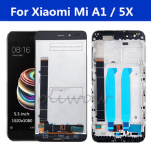 High Quality For Xiaomi MiA1 Mi A1 LCD Display+Touch Screen Digitizer Screen Glass Panel For Xiaomi Mi A1 Mi5X Mi 5X lcd 5.5