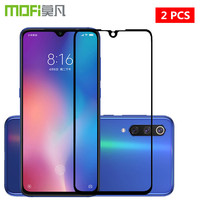 For Xiaomi 9 Tempered Glass MOFi For Xiaomi Mi 9 Explorer Film Glass Mi9 SE Full Cover Screen Protector Black 2 pcs