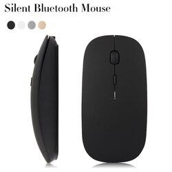 Cicha  ładowalna mysz bluetooth dla CHUWI Hi10 Plus Pro Hi12 Hi13 Hi9 Air Vi10 hi10 hibook Surbook mini 10 Laptop