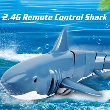Rc моделирование Акула игрушки 24g 4ch Водонепроницаемый электрический