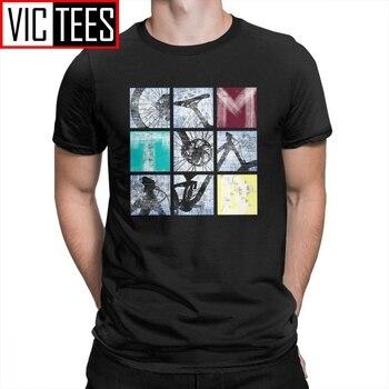 Square Trek MTB Mountain Bike T-Shirts Crewneck Men T Shirts Short-Sleeve  Fashion Tee Shirt Trendy Male Purified Cotton Plus