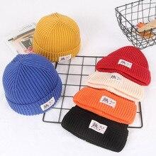 Knitted Hats for Women Skullcap Men Beanie Hat Winter Retro Brimless Baggy Melon Cap Cuff Docker Fisherman Beanies For