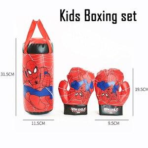 3 шт. детские боксерские перчатки с песком, детские фитнес-игры, игрушки, спортивный зал, детские развивающие игрушки для снятия стресса, ани...