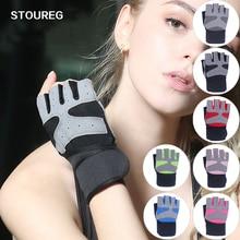 Перчатки для тренажерного зала, Перчатки для фитнеса, тяжелой атлетики, бодибилдинг, тренировка, спортивные, тренировочные перчатки для мужчин и женщин, S/M/L/XL