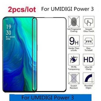 Перейти на Алиэкспресс и купить Полностью проклеенное закаленное стекло для UMIDIGI power 3 Защитное стекло для экрана для UMIDIGI power 3 закаленное защитное стекло