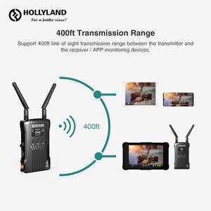 Image 5 - الأصلي هوليلاند المريخ 400s اللاسلكية نقل صورة HD جهاز استقبال صوت وفيديو لاسلكي 400ft HDMI SDI 1080P VS المريخ 300 موما 400