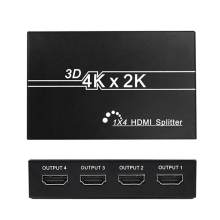 4K 2k 1X4 HD Splitter Full HD 1080p Video HD 1 In 4 out Switch Switcher Display per Smart TV monitor proiettore mi box3 ps4